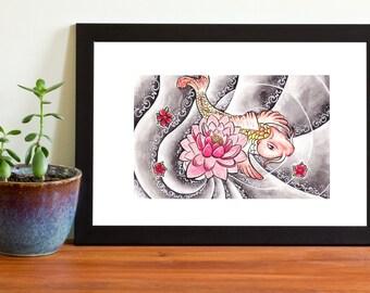 Art Print Koi 6x4