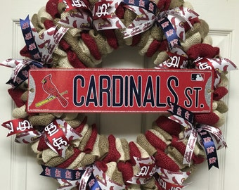 St. Louis Cardinals Wreath