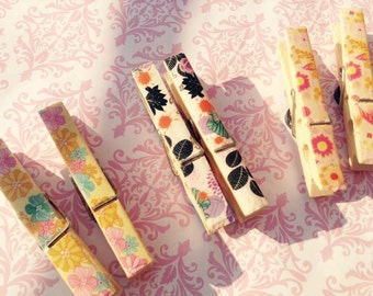 magnet clothes pins kawaii cute style