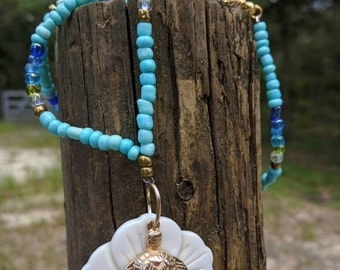 Sea Turtle Shell Necklace
