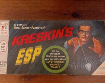 Vintage Kreskin's ESP game from 1966