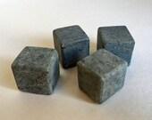 Whiskey Stones Soapstone Rock Ice Cubes - Large Size - Set of 4