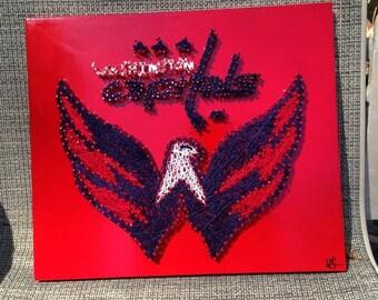 Washington Capitals String Art