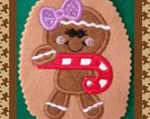 Gingerbread Girl Shirt / Christmas Shirt / Cookie Shirt / Holiday Shirt