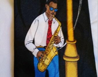 Steven Harris Bourbon Street Jazz Tie