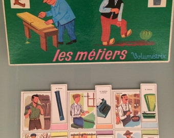 French vintage childrens game