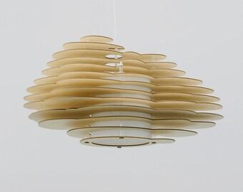 Nuage No. 6 Holzlampe - contura Hängelampe