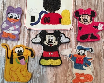 Mouse Finger Puppets