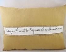 burlap quote pillow, rustic pillow,shabby chic pillows,burlap pillow with words,grain sack pillow,farm house pillow,home decor pillow