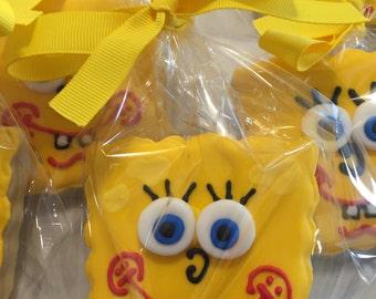Spongebob Sugar Cookies