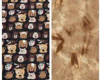 Fleece Adult Dog Lover's Blanket(A20,A18)