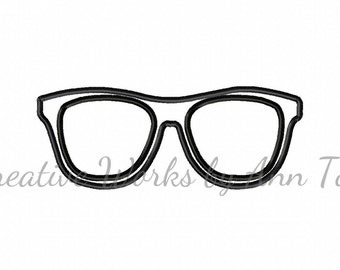 Eyeglasses Sunglasses Applique
