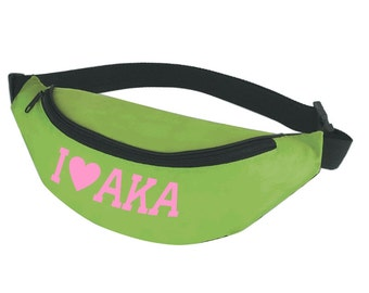 Alpha Kappa Alpha Sorority Fanny Pack