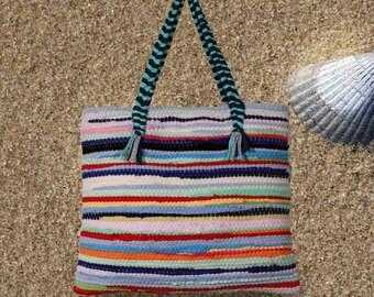 Kourelou Bag shoulder in boho style in medium size