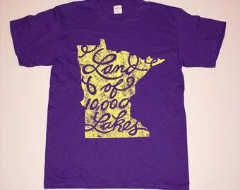 Minnesota Home Minneapolis Land Of 10000 Lakes T shirt