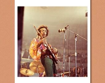 JIMI HENDRIX - Live, Royal Albert Hall, London 1969 - Giclée/Photo print