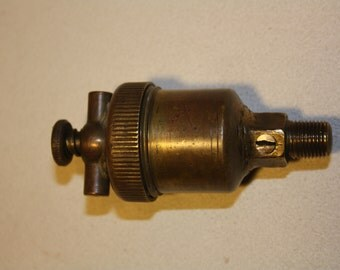 Vintage Brass Grease Cup Oiler
