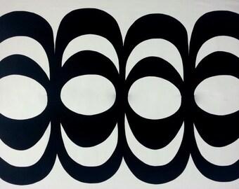 Marimekko fabric | Marimekko fabric by the yard | Designer fabric | Marimekko kaivo fabric | Wall art fabric | retro fabric