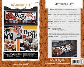 Halloween Boo! Pillow By Kimberbell Designs #KD180