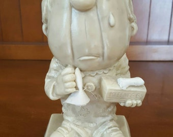 "1971 Russ Berrie Co Collectible Figurine ""Sorry To See You Go"""