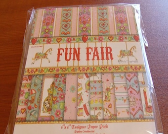48 Glitter Funfair Papers