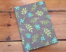 A5 Notebook Covered in Home for Harvest Fabric