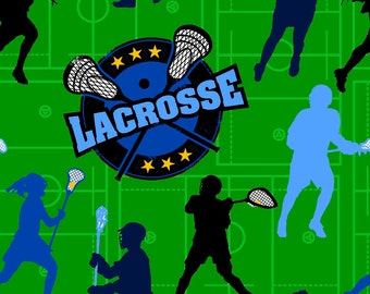 Lacrosse Tie Knot Fleece Blanket PERSONALIZED