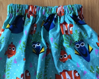 Finding dory skirt set, Skirt set Skirt, girls skirt, baby skirt, toddler skirt, cute skirt ,