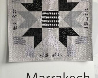 Marrakech Quilt Pattern by Heather Jones from Heather Jones Studio