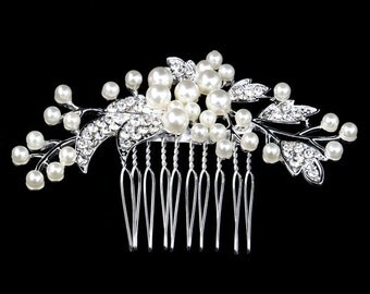 Bridal Comb, Bridal Hair Comb,Pearl Bridal Comb,Wedding Hair Jewelry,Bridal Jewelry Pearl,Headpiece Wedding,hair accessory bridal headpiece