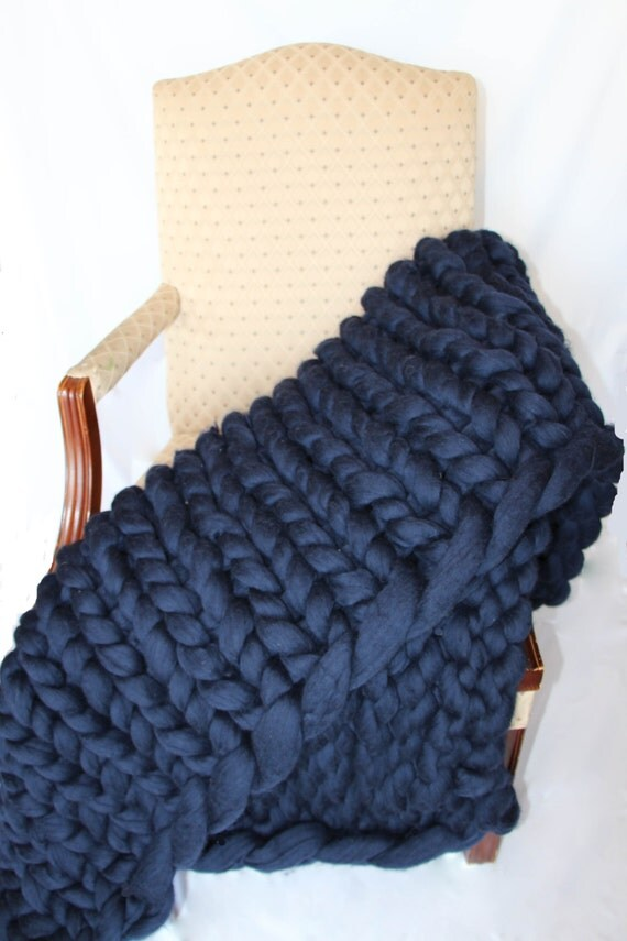 promo sale super chunky knit blanket wool knit blanket. Black Bedroom Furniture Sets. Home Design Ideas