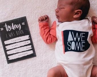 Baby Milestone Achievement Cards - Record your babies achievements