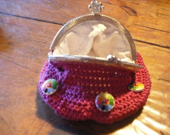 wallet to the silver, clasp hook purse