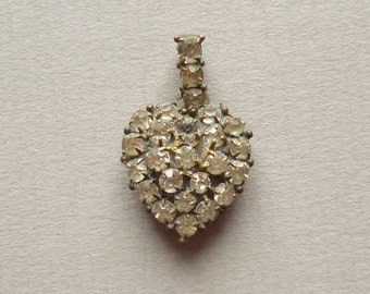 Victorian Pendant Love Heart