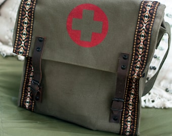 Military Issued Medic Bag