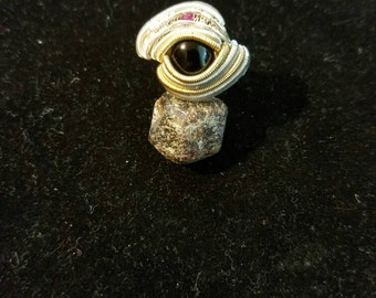 oxyx and ruby ring
