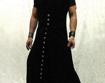 Wraith Robe - Black Velvet