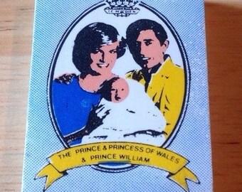 Vintage Princess Diana & Prince Charles Eraser/Rubber