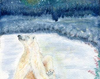 This Moment    :   A Polar Bear's Joy