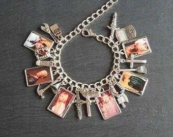 Buffy the Vampire Slayer charm bracelet