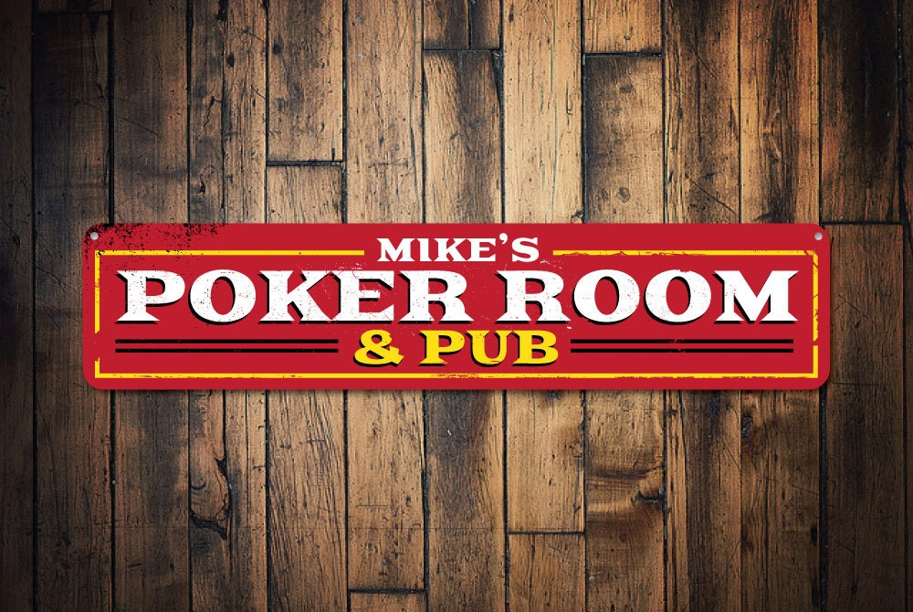 Poker signs for room
