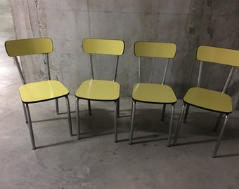 Formica 50s chairs