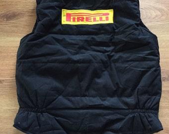 Vintage pirelli vest size xl