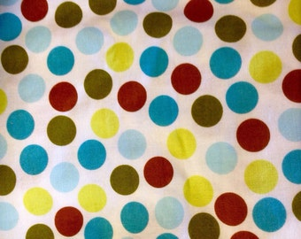 Fitted Crib Sheet - Spots