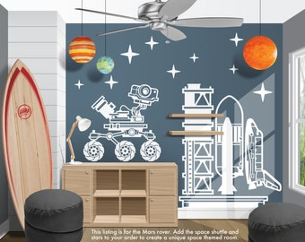 Space Wall Decals Etsy - Portal 2 wall decals