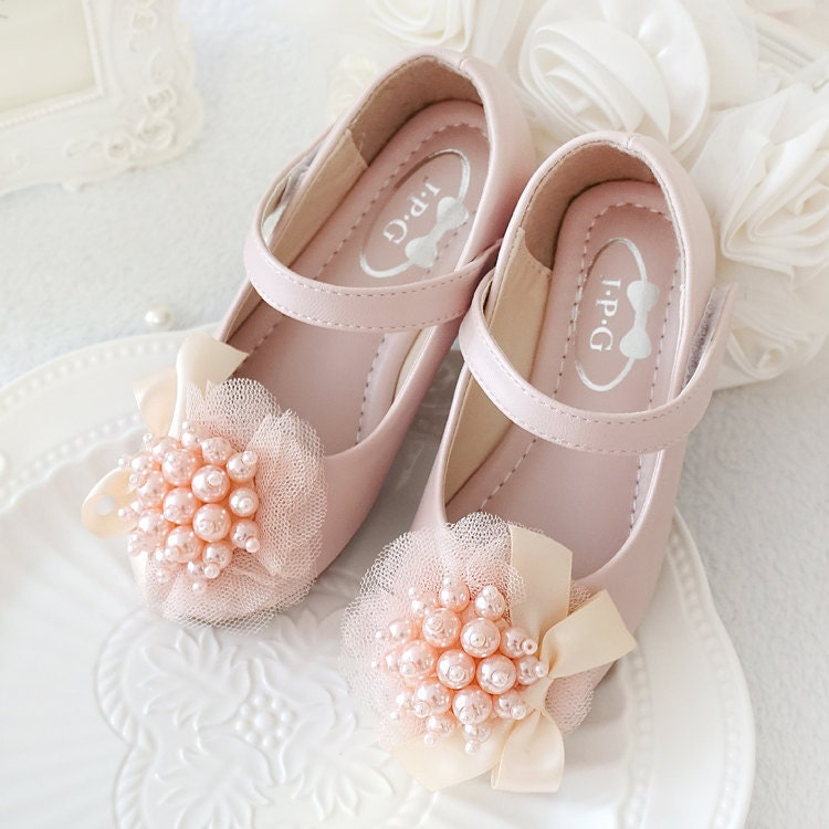 light pink shoes toddler flower shoes youth
