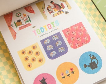 Circus Stamps Labels & Stickers Dictionary | Gift Ideas | Back to School