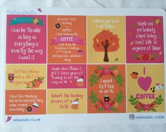 Gilmore Girls Quote Stickers