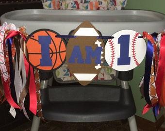 Sports High Chair Banner