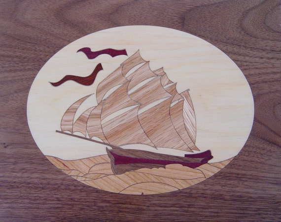 "8""x 10"" Marquetry Project Kit - Niagara"